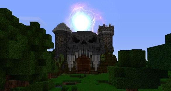 minecraft castle grayskull