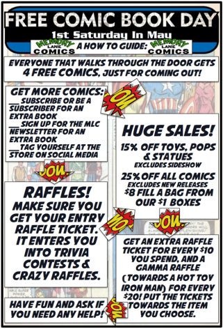 free comic book day ad at memory lane.png