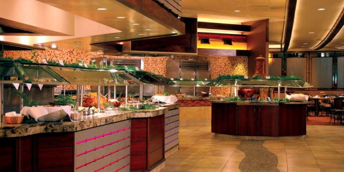 chefs stage buffet