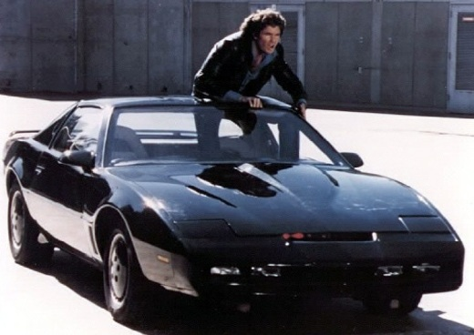 kitt knight rider car