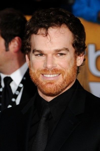 michael c hall ginger beard