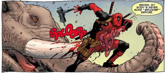 deadpool mauled by elephant