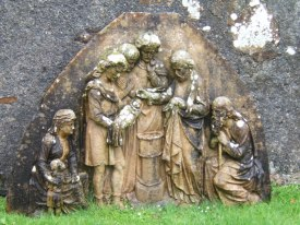 Sculpture_showing_infant_baptism_-_geograph.org.uk_-_1289870